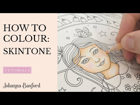 Tutorial : How to Colour Skin Tone