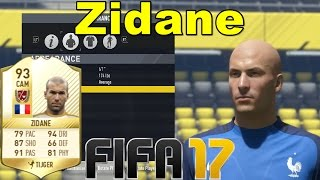 FIFA 17 - Zidane - Virtual Pro Look A Like Tutorial ( with Stats )