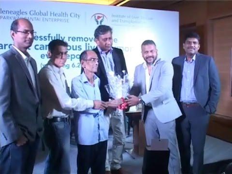 GLOBAL HOSPITAL |LARGEST TUMOR REMOVED|GLENEGLES GLOBAL HEALTH CITY|DR.RELA|Dr.Srinivas reddy