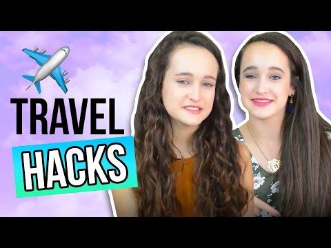 Travel Hacks!   Totally Teenage Twins