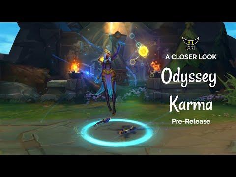 Odyssey Karma Epic Skin (Pre-Release)