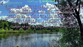 Baixar Quick and good quran recition-Surah Al-Maidah-in 50+ Languages- Open the subtitle