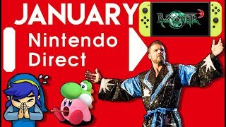 January Nintendo Direct Will Be Glorious for Switch Owners