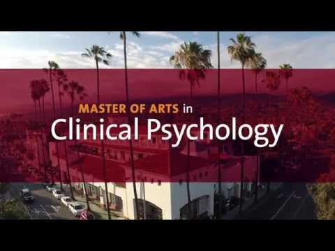 MA in Clinical Psychology program at Antioch University Santa Barbara