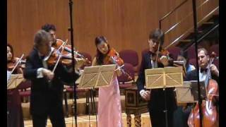Edoardo Zosi, Pierre Amoyal - Bach, Largo ma non tanto dal Concerto BWV1043