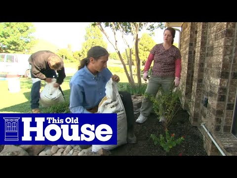 how to plant a flower bed in clay soil this old house youtube