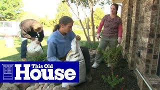 How to Plant a Flower Bed in Clay Soil - This Old House