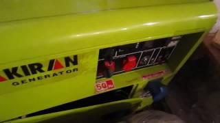Дизельный генератор Dalgakiran 7000 в кожухе(, 2016-12-09T08:30:00.000Z)