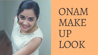 ONAM MAKE UP LOOK| ONAM SERIES | ANJU JOSEPH