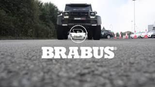 brabus g500 4x4² mit klappenauspuff brabus g500 4x4² with valve controlled exhaust