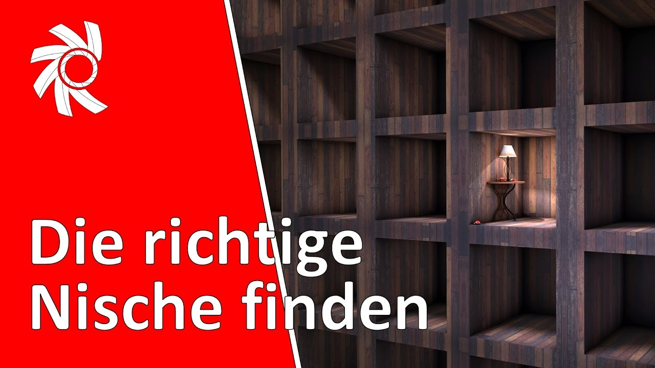 die richtige nische finden in 3 schritten youtube. Black Bedroom Furniture Sets. Home Design Ideas