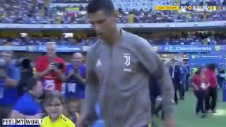 Juventus 3 x 2 Chievo | Estréia oficial do CR7 || all goals Resumé