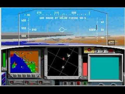 F-15 Strike Eagle II in DOSBox, Part 1