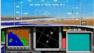 F-15 Strike Eagle II in DOSBox, Part 1