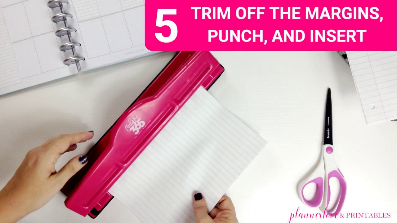5 Happy Planner Hacks in about a Minute