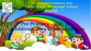 VPMS, Nashik. Children's Day Celebration 2020.