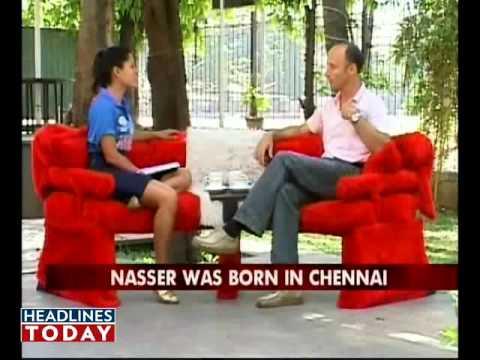 Cricket was thrust upon me: Nasser Hussain. Part 1 of 6