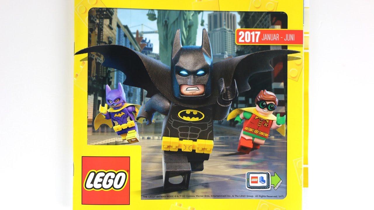 Lego Katalog Januar Bis Juni 2017 Durchgeblättert