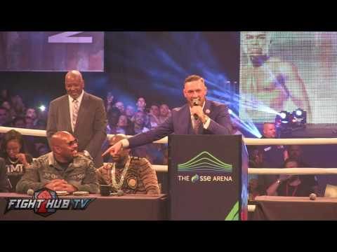 "Thumbnail: CONOR MCGREGOR CLOWNS LEONARD ELLERBE'S OUTFIT ""WHAT THE FOOK IS THAT"""