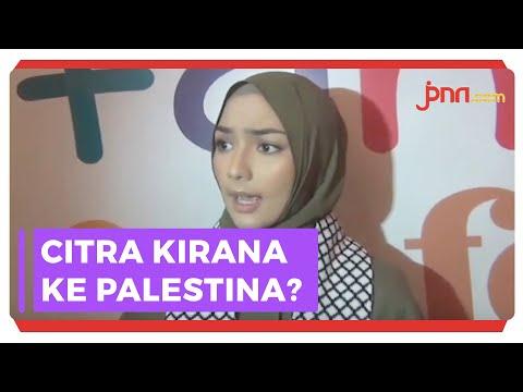 Citra Kirana Susul Nisa Sabyan Peduli Korban Palestina