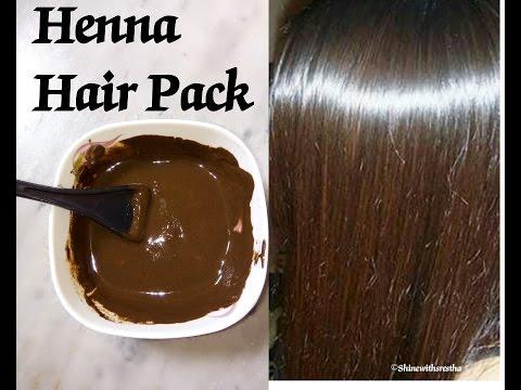 Henna Hair Pack | Super Soft, Shiny, Silky Glossy Hair | Srestha Ghose