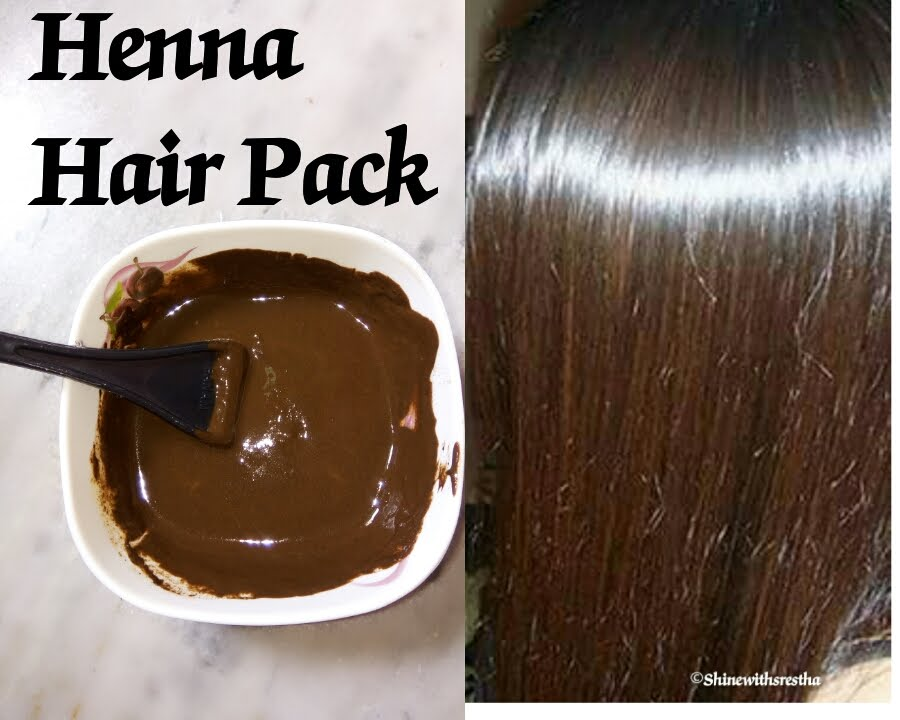 Mehndi For Shiny Hair : Henna hair pack super soft shiny silky glossy srestha