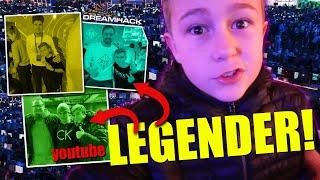 DREAMHACK → träffar YOUTUBE-LEGENDER!  *vlogg*