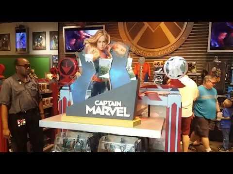 Marvel Store en Disney Springs