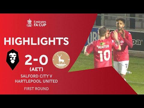Salford Hartlepool Goals And Highlights