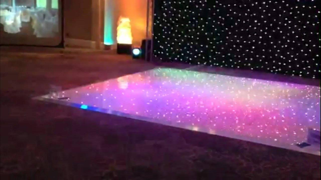 LED Twinkle Light Dance Floor