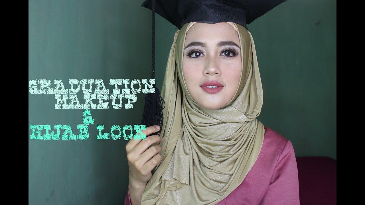 GRADUATION MAKEUP Tutorial Makeup Wisuda Mudah Viadewis YouTube