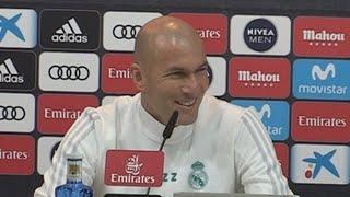 Zidane admite que entrenar al Real Madrid es