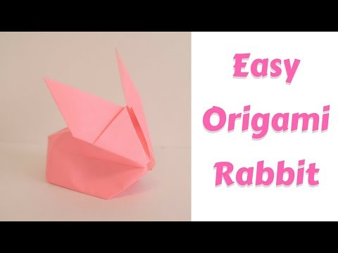 How to Make an Easy Origami Rabbit