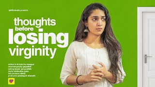 Girl's Thoughts Before Losing Virginity | Girl Formula | ChaiBisket