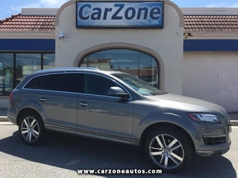 Audi Q Used SUV Baltimore Maryland CarZone USA YouTube - Audi q7 carzone