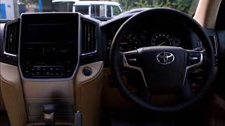 OVERVIEW OF TOYOTA LAND CRUISER AX 2017 URJ202 MYCAR REVIEW FEATURE...