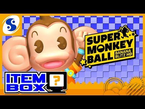 Super Monkey Ball Banana Blitz HD | ITEM BOX |