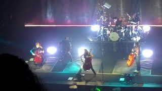 Apocalyptica - Seek & Destroy, Mexico City, Teatro Metropólitan, 15 Noviembre 2017