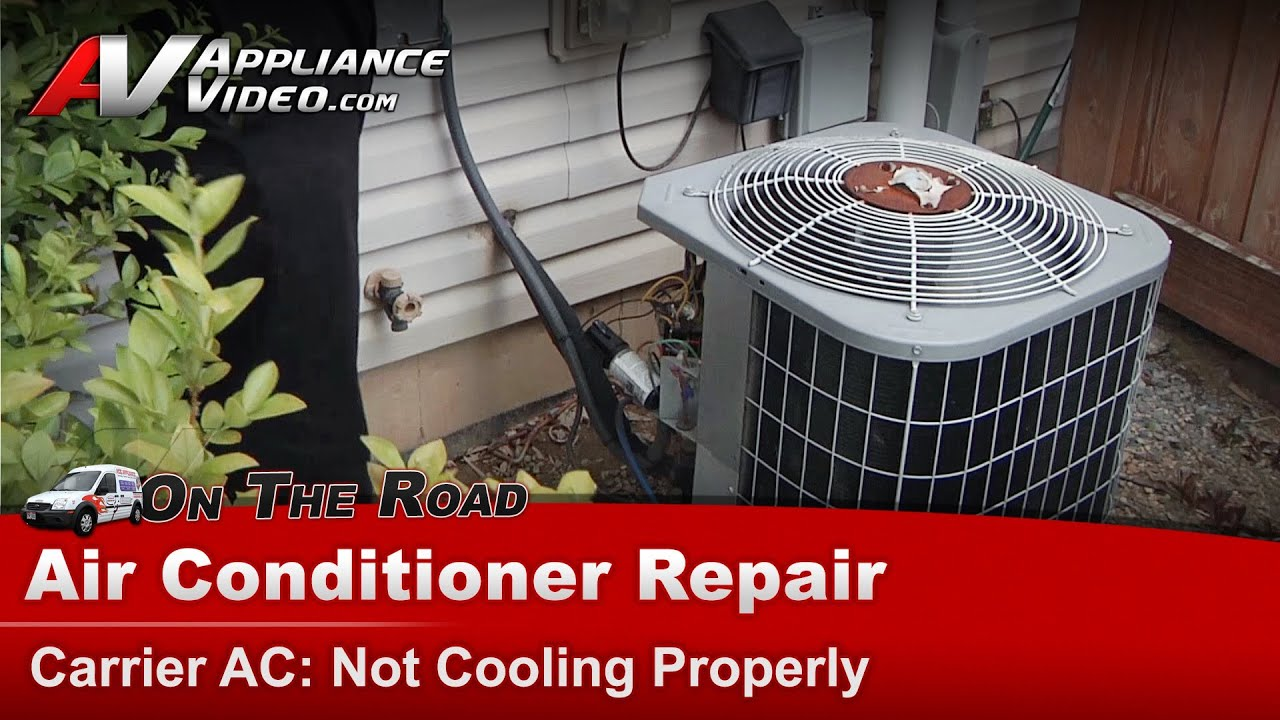 maxresdefault central air conditioner repair & diagnostic not cooling properly  at eliteediting.co