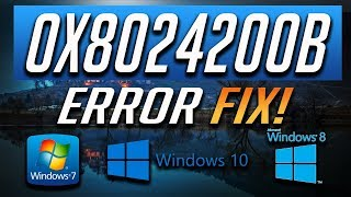 Fix windows update error 0x8024200d in windows 10 3 solutions 2019