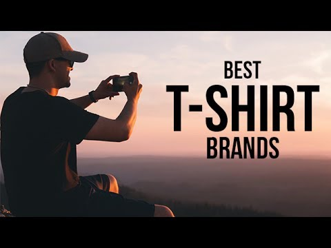 Top 5 Best T-Shirt Brands for Men in 2017