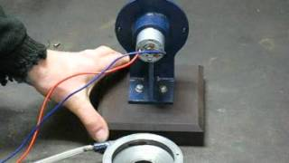 Repeat youtube video Compressed air turbo generator