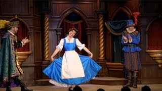 FULL Beauty and the Beast show in Fantasy Faire at Disneyland