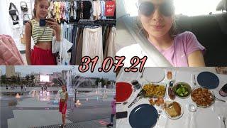 VLOG Первый день в Перми Шоппинг фонтаны покупки LIZA FOX