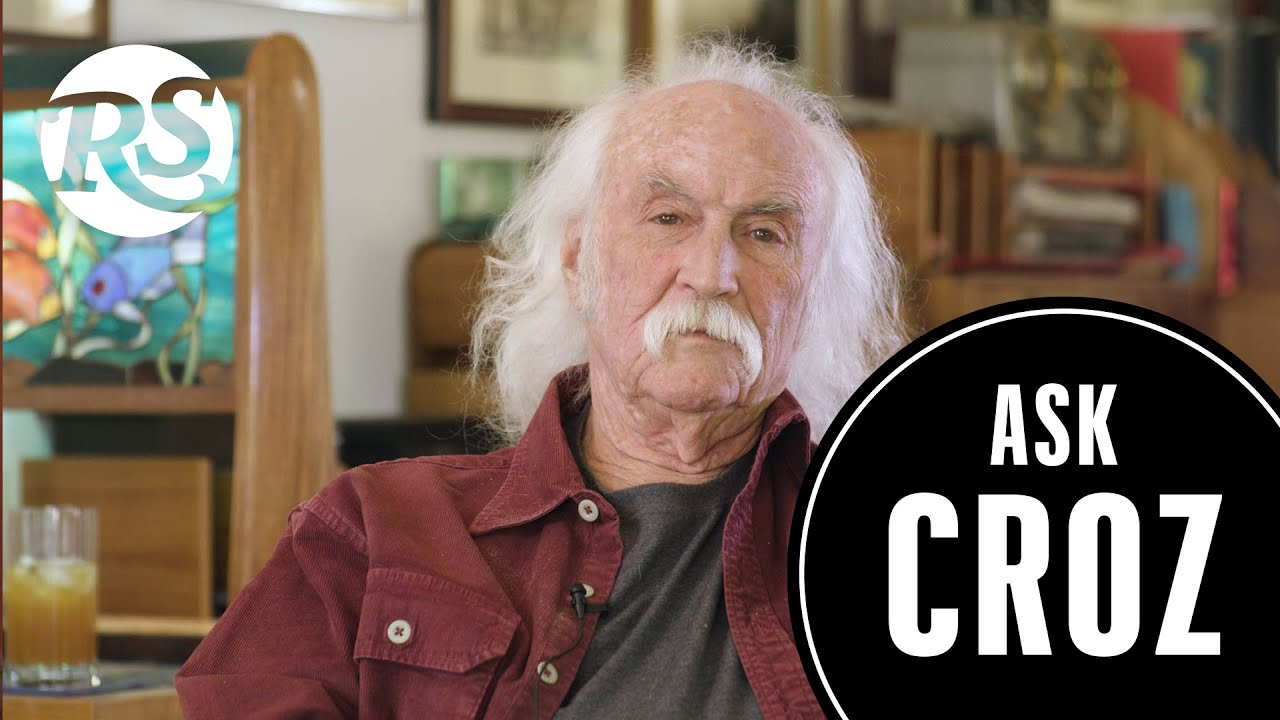 David Crosby Answers Your Questions on Parenting, Joe Biden and Fearing Death | Ask Croz
