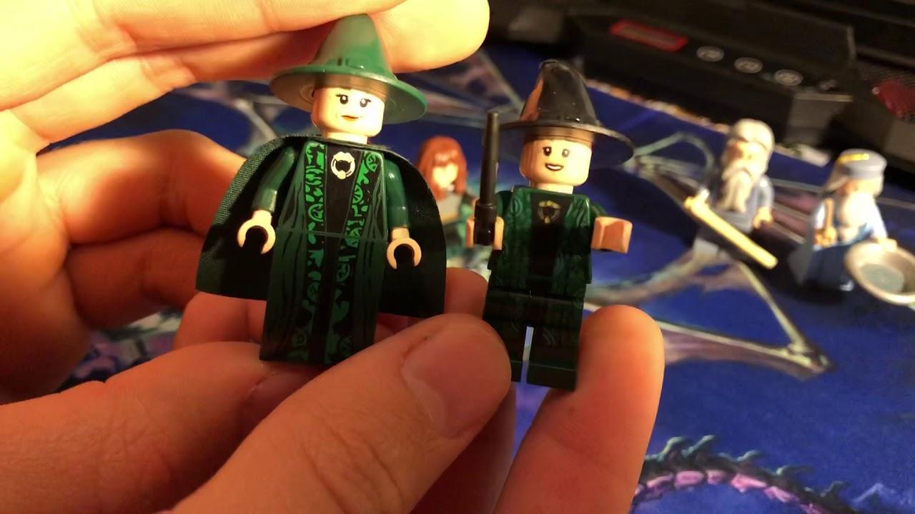 Рубрика Сравнения: Лего Гарри Поттер, Гермиона, Профессор ...