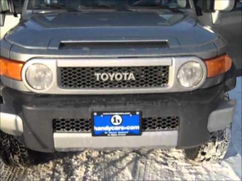 The 2011 Toyota Fj Cruiser Youtube