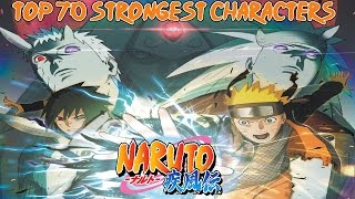 Top 70 Strongest Naruto Shippuden Characters ナルト 疾風伝 [Canon Series Finale]