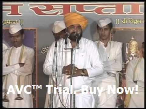 Ramrao Maharaj Dhok VCD Kirtan - Hechi Daan Dega Deva