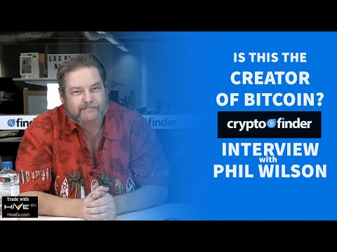 Who Is Satoshi? Alleged Bitcoin Creator Phil Wilson Tells All In Interview